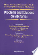 Problems and Solutions on Mechanics