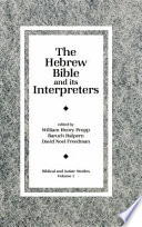 The Hebrew Bible and Its Interpreters