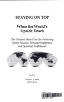 Staying on top when the world's upside down Pdf/ePub eBook