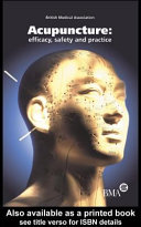 Acupuncture Efficacy Safety And Practice