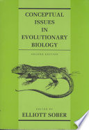 Conceptual Issues in Evolutionary Biology
