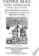 Annalium libri quatuor