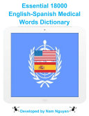 download ebook essential 18000 medical words dictionary in english-spanish pdf epub