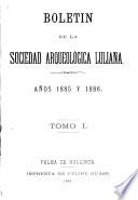 Bolet  n de la Sociedad Arqueol  gica Luliana