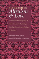 Research On Altruism Love