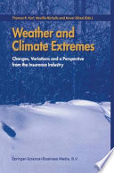 Weather and Climate Extremes Book PDF