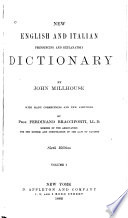New English and Italian Pronouncing and Explanatory Dictionary