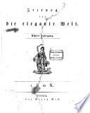 Zeitung f  r die elegante Welt Berlin
