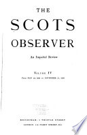 The Scots Observer book