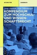 Kompendium zum Hochschul- und Wissenschaftsrecht