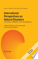 International Perspectives on Natural Disasters  Occurrence  Mitigation  and Consequences