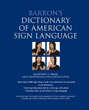 Barron s Dictionary of American Sign Language