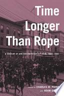 Time Longer Than Rope