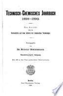 Technisch chemisches Jahrbuch