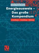 Energieausweis ¿ Das große Kompendium