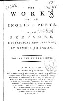 download ebook the works of the english poets pdf epub