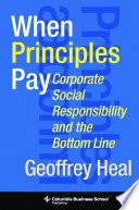 When Principles Pay