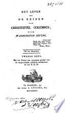 Het Leven En De Reizen Van Christoffel Columbus