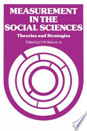 Measurements in the Social Sciences