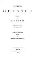 Homers Odyssee  Gesang 13 18  7  Aufl  1885