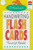 D Nealian Handwriting Flash Cards Manuscript Alphabet