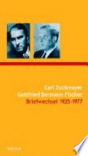 Briefwechsel: Briefe 1935-1977