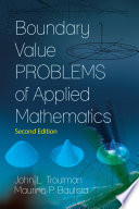 Boundary Value Problems of Applied Mathematics