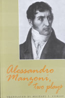 Alessandro Manzoni  Two Plays