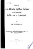 Ueber die Charcot-Robin'schen Krystalle in den Faces nebst einer Bemerkung über Taenie nana in Deutschland