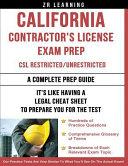 California Contractor s License Exam Prep