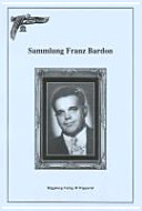 Sammlung Franz Bardon