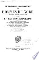 Dictionnaire biographique des hommes du Nord
