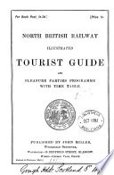 North British Railway Illustrated Tourist Guide And Pleasure Parties Programme With Time Table