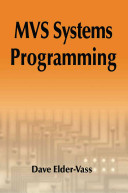 MVS Systems Programming