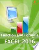 Function and Formula Excel 2016