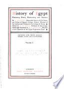 History of Egypt  Chaldea  Syria  Babylonia  and Assyria  Maspero  G  History of Egypt  Chaldea  Syria  Babylonia  and Assyria