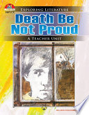 Death Be Not Proud book