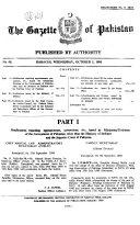The Gazette of Pakistan