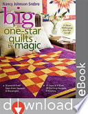 Big One Star Quilts By Magic Book PDF