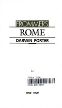 Rome : a tenth anniversary edition, with...