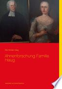 Ahnenforschung Familie Haug