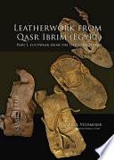 Leatherwork from Qasr Ibrim  Egypt   Part I  Footwear from the Ottoman Period