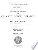 Climatological Data  California