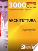 Tremila quiz  Anno accademico 2009 2010  Per le prove di ammissione a  architettura