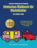 Einfaches Kindergarten-Malbuch