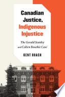 Book Canadian Justice  Indigenous Injustice