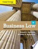 Cengage Advantage Books  Business Law  Principles and Practices