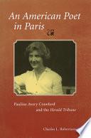 An American Poet in Paris Pdf/ePub eBook