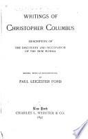Writings of Christopher Columbus