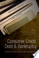 Consumer Credit  Debt and Bankruptcy